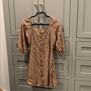 Angie - Leopard Dress